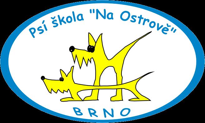 Logo Psí škola na Ostrově